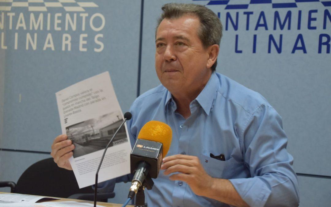 «Han anunciado la suspensión del tren 10 días después de las elecciones»