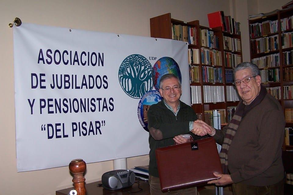 Cursos audiovisuales en la Asociación de jubilados y pensionistas «del Pisar»