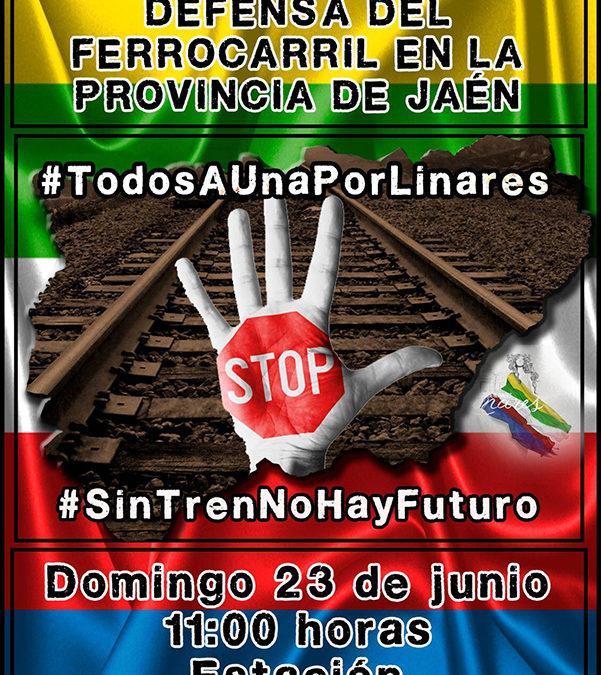 El Comité de Empresa de Adif en Jaén convoca concentración el domingo en Linares-Baeza
