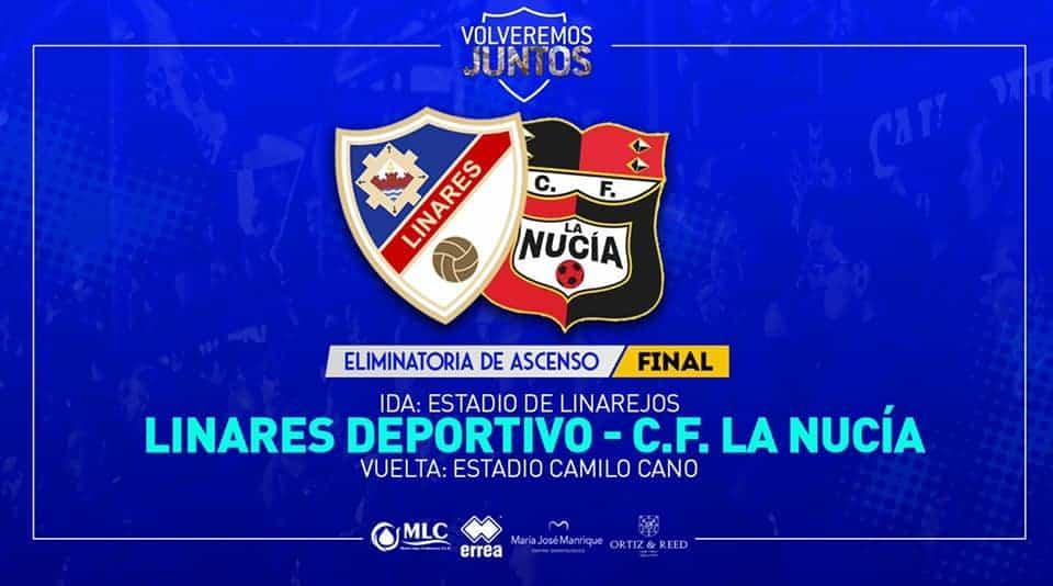 El equipo de la Nucía, de Alicante, rival del Linares Deportivo para el ascenso a la 2ªB
