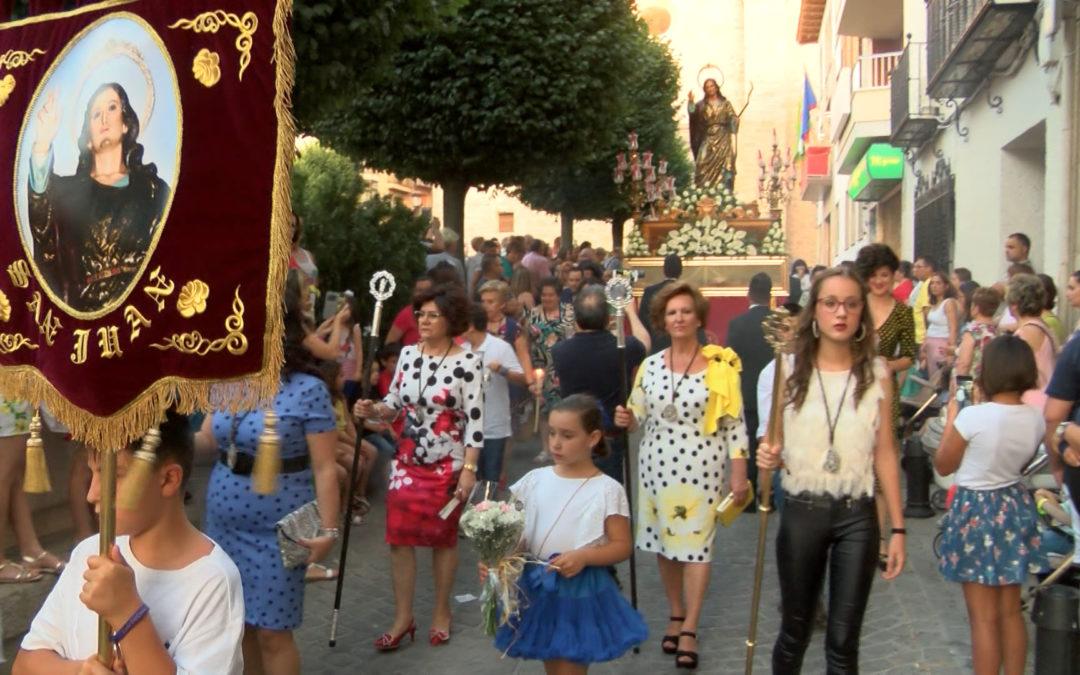 El Barrio de San Juan festeja en honor a su patrón con una amplia programación que culminaba con la procesión