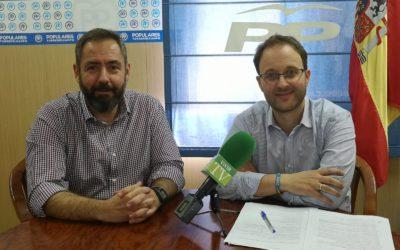 El parlamentario Erik Domínguez presenta los presupuestos de la Junta en Torredelcampo