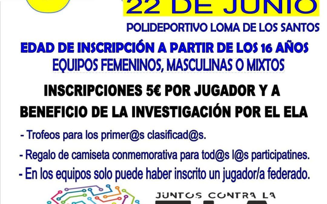 El CB Toxiria organiza un torneo 3×3 dentro de la Jornada Deportiva Juntos contra la ELA