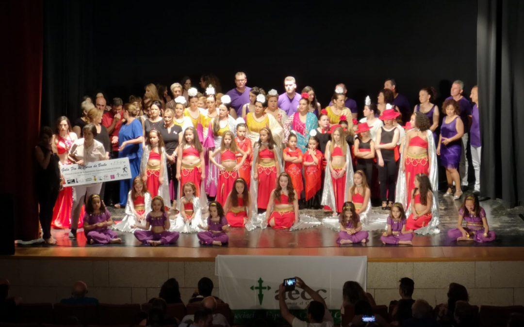 La Escuela de Baile Carmen Bueno y la Academia de Danza del Vientre Zahira consiguen recaudar más de 500 euros para la lucha contra el cáncer