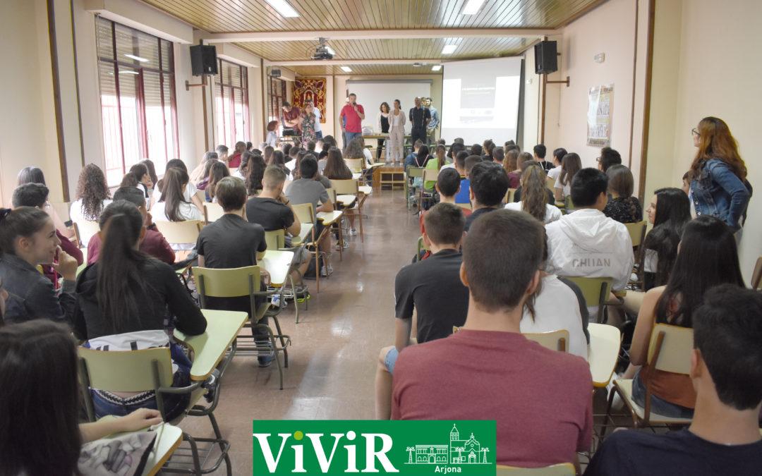 Arjona acoge la V Yincana matemática en honor del profesor Chamocho