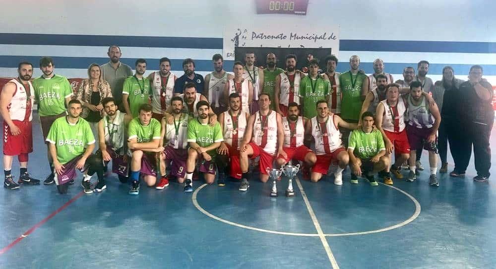 El Sierra de Andújar, campeón de la Liga Provincial de Baloncesto