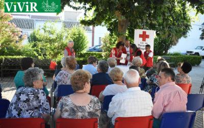 Cruz Roja previene a los mayores marmolejeños sobre las olas de calor