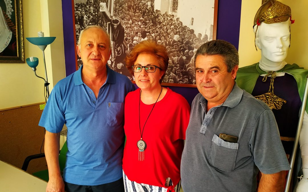 Juani Zafra vuelve a ser elegida presidenta de la Hermandad de Jesús Nazareno