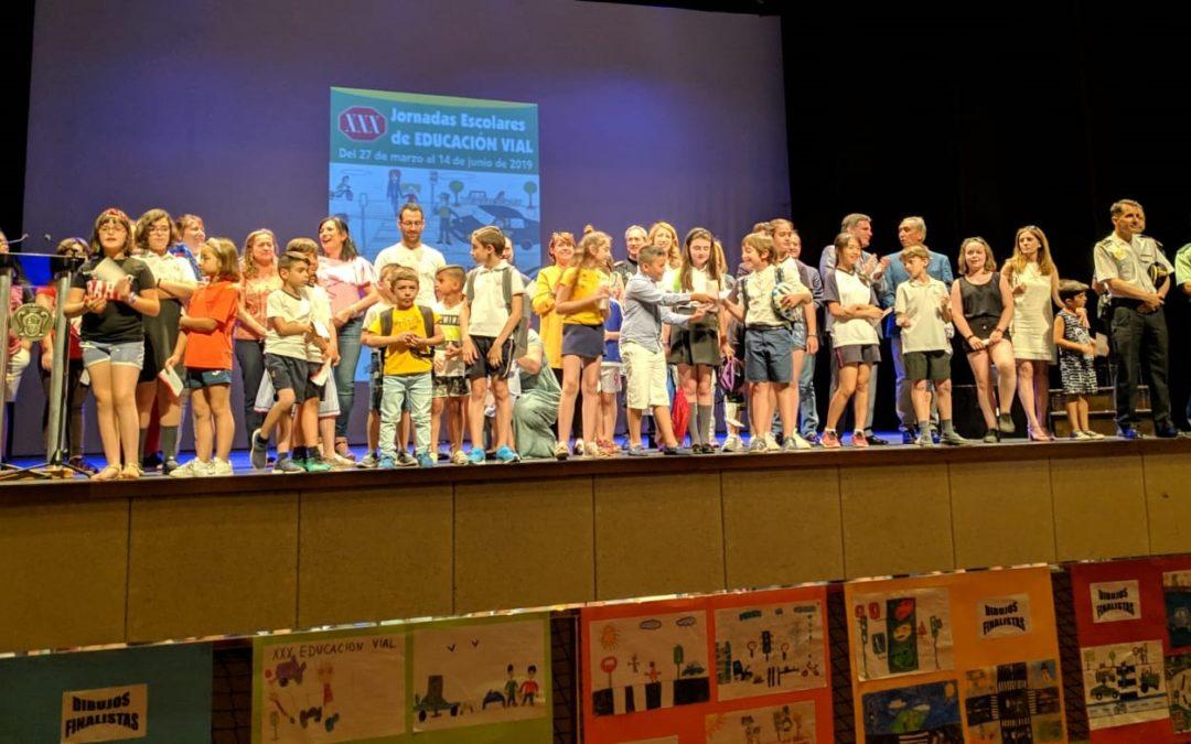 Clausura de las XXX Jornadas Escolares de Educación Vial