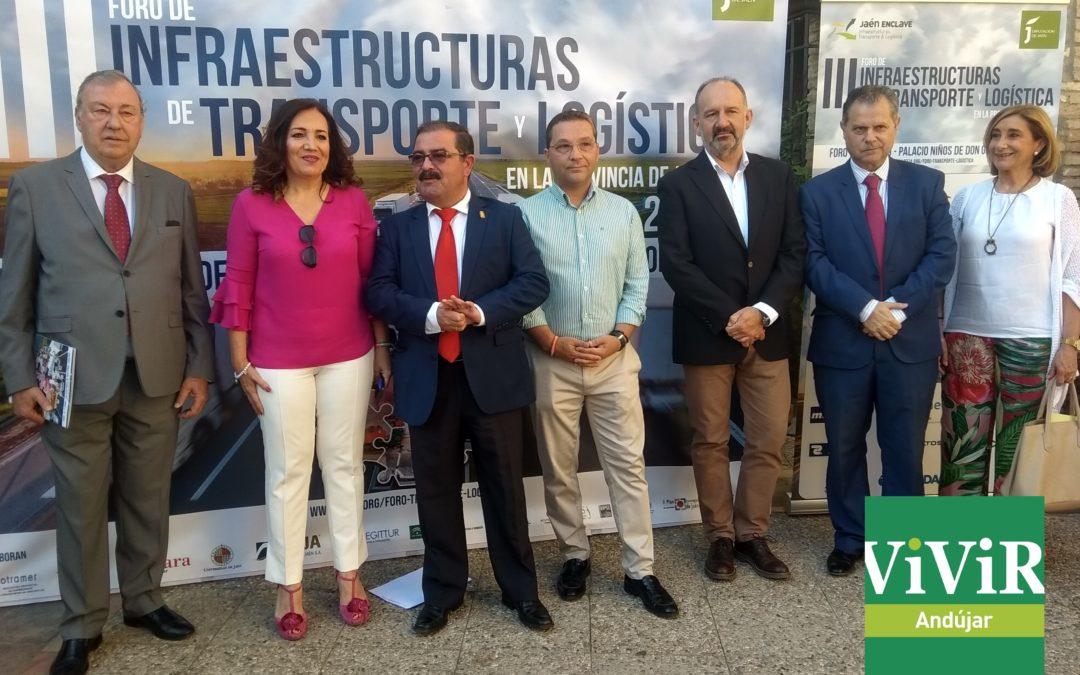 Las oportunidades del transporte y la logística de la provincia, se analizan en Andújar