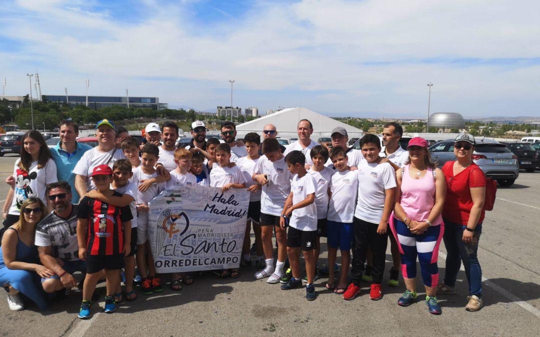 La Peña Madridista El Santo ha estado representada por el equipo Alevín A del Hispania en el Torneo Interpeñas