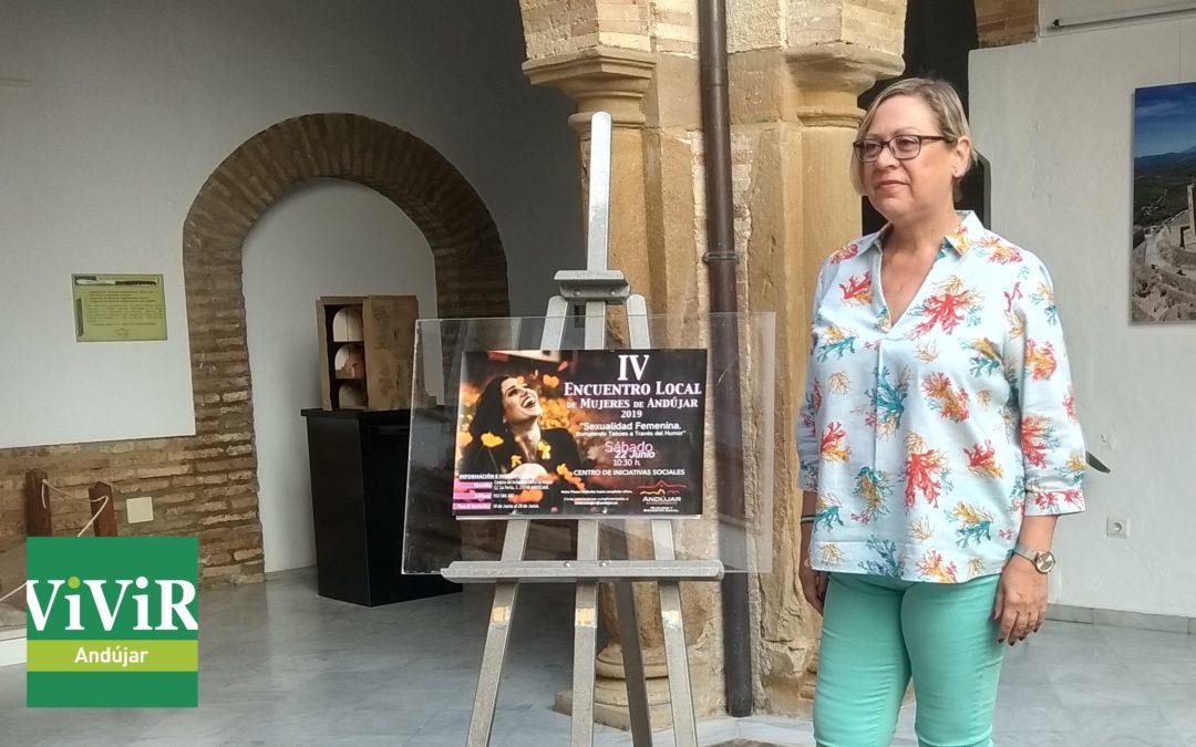 El Encuentro Local de la Mujer abordará la sexualidad femenina y el humor