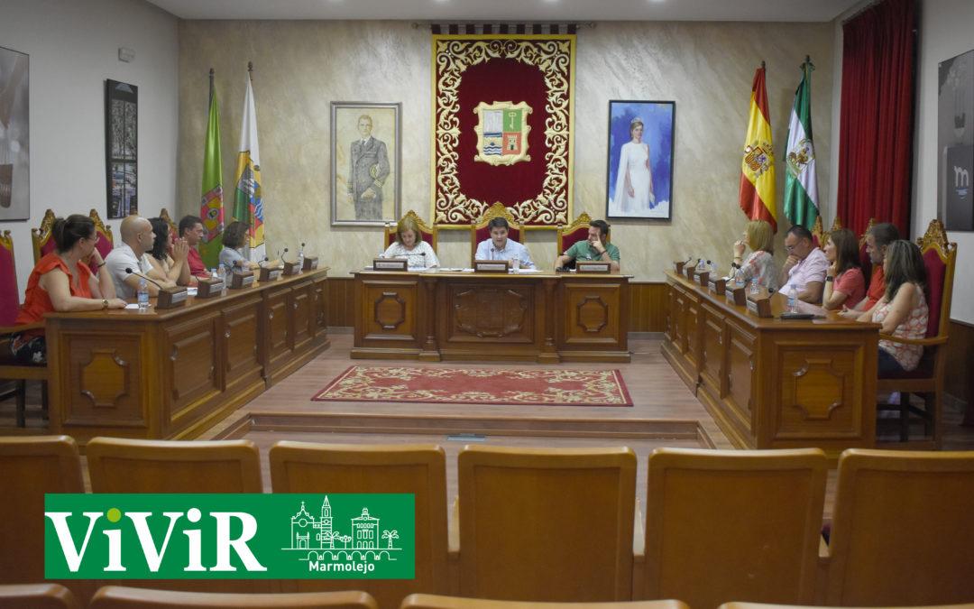 El pleno aprueba por unanimidad una moción institucional de apoyo al olivar
