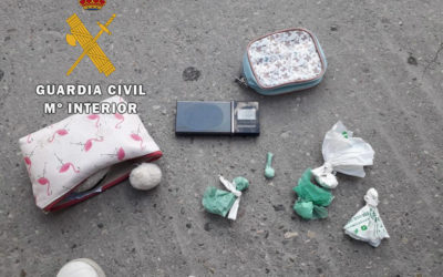 La Guardia Civil, ha detenido a cuatro personas, como presuntas autoras de un Delito Contra la Salud Pública