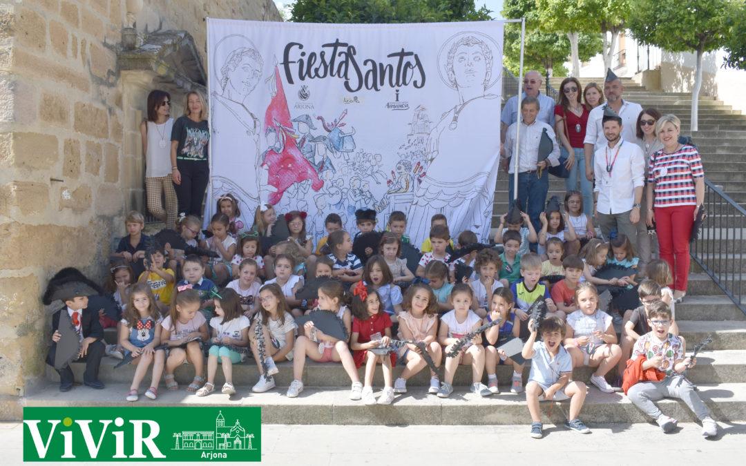 Los niños de infantil conocen a fondo las tradiciones de Fiestasantos