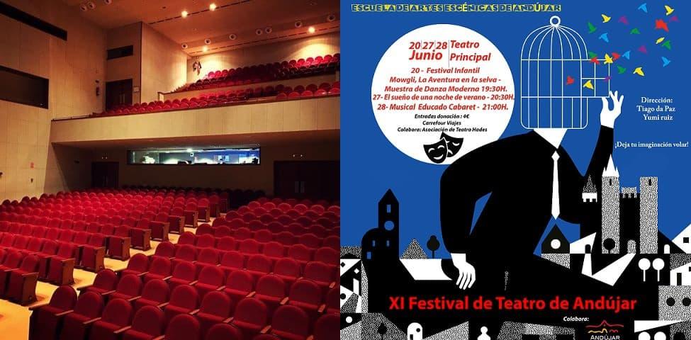 Arranca el XI Festival de Teatro de Andújar