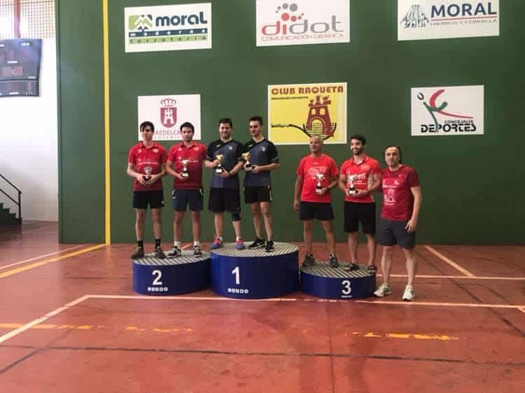 Jose Carlos Moral y Mario Cortes campeones del XX Torneo Sta. Ana de Frontenis