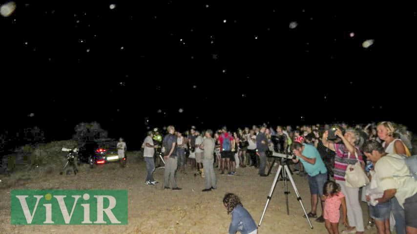 El taller de Astronomía y el eclipse despertaron el interés de cientos de marteños