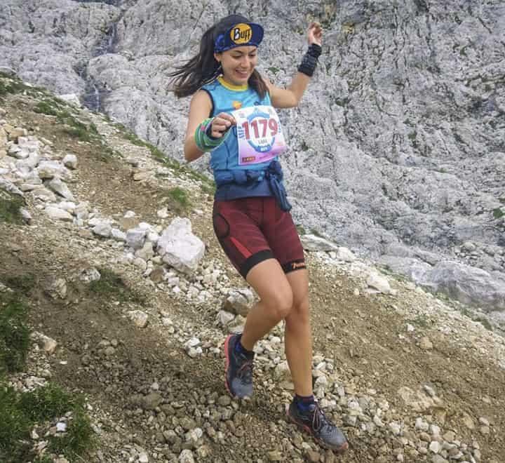 Silvia Lara toma contacto con el atletismo internacional