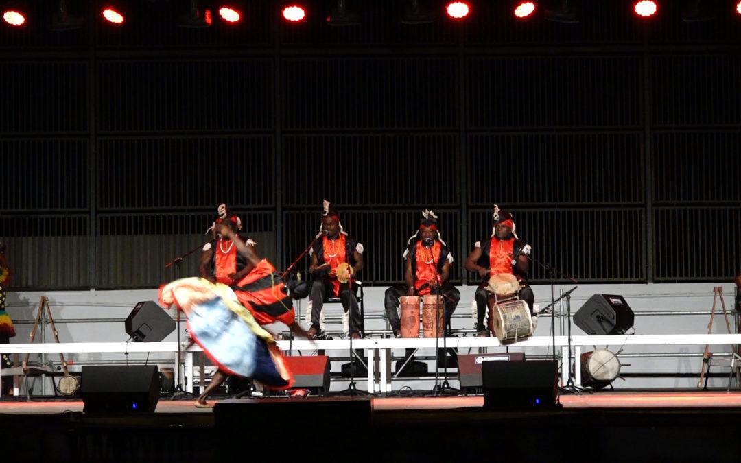 El Folk del Mundo regresa a Torredonjimeno con la gran actuación del grupo de Benín