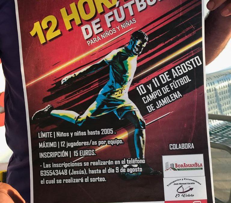 Abierto el plazo de inscripción para las 12 horas de Fútbol 7 Infantil.