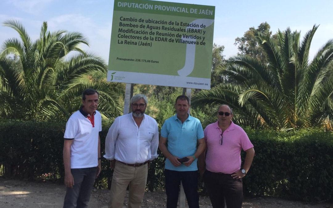 Comienzan las obras de la nueva Estación de Bombeo de Aguas Residuales de Villanueva