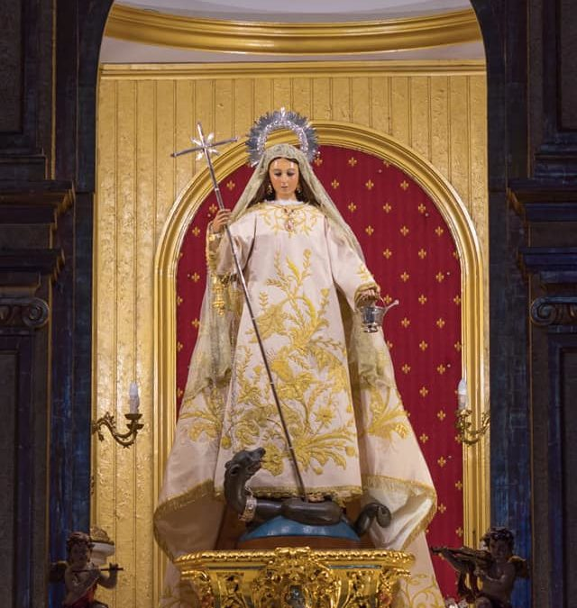 Honras a Santa Marta en el 800 Aniversario de su Patronazgo