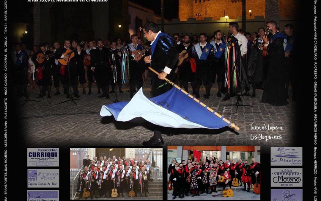 La localidad se prepara para acoger la décimosegunda edición del certamen de tunas «Villa de Lopera»