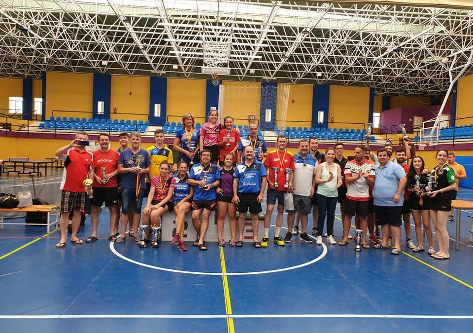Marmolejo, epicentro del tenis de mesa provincial