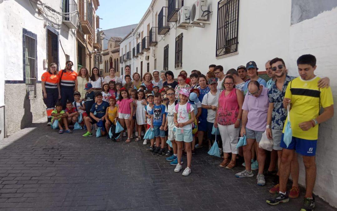 Los niños de la Escuela de verano conocen los productos tradicionales de Arjona