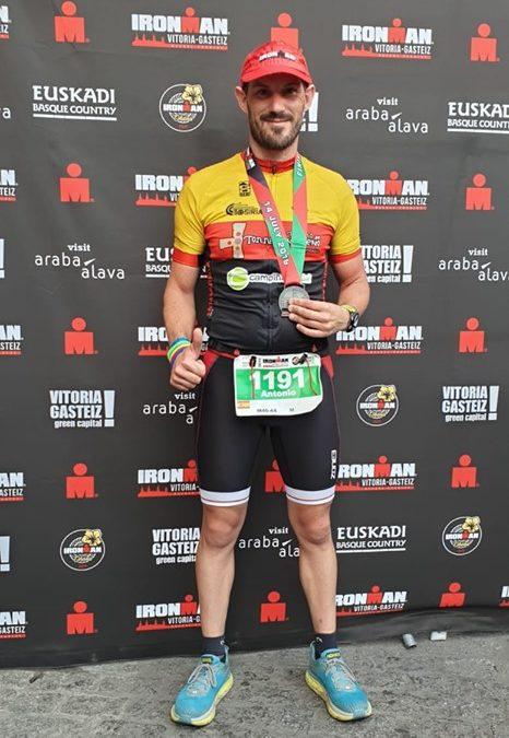 El tosiriano Antonio Higueruelo Colomo participa en el Ironman de Vitoria – Gasteiz