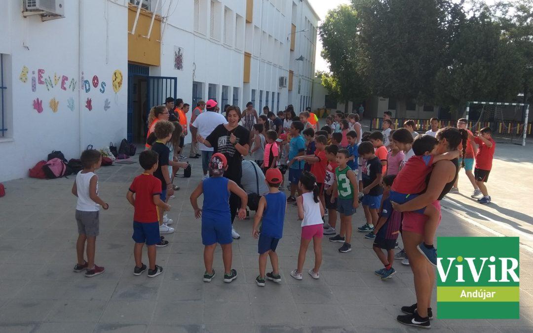 Un campamento de verano que favorece la inclusión de pequeños con diversidad funcional