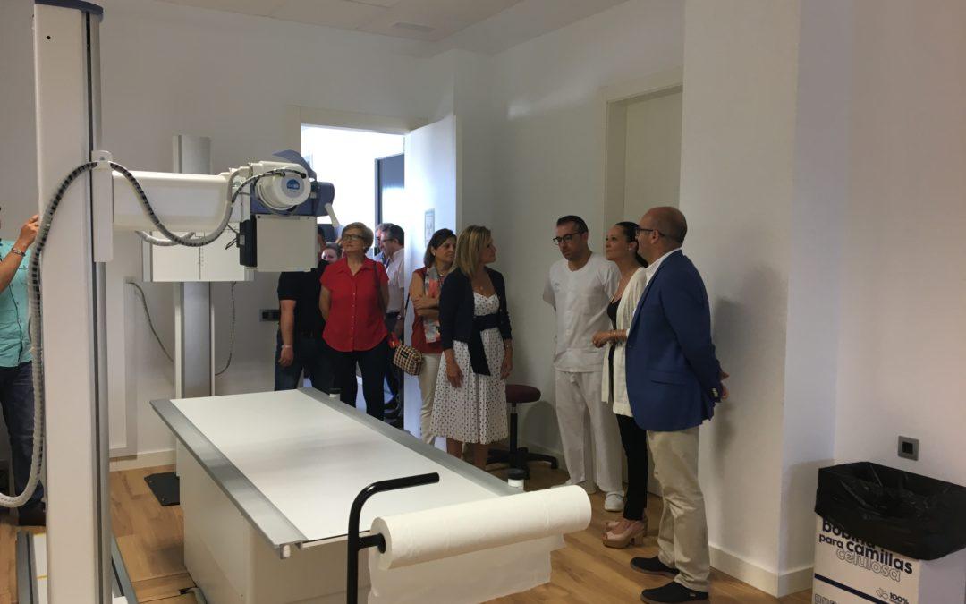 El centro de salud de Torredonjimeno pone en marcha el servicio de Radiología
