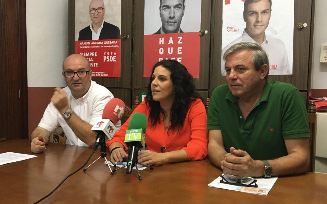 La parlamentaria Ángeles Férriz habla de «los 0 euros» de la Torredonjimeno-El Carpio
