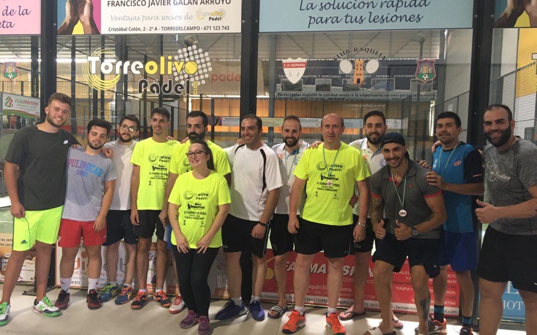 El Torneo de Feria Santa Ana de Pádel ya tiene ganadores