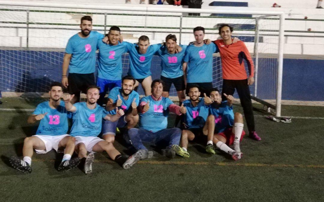 Soleinar Consulting gana el maratón de fútbol 7 de Arjona