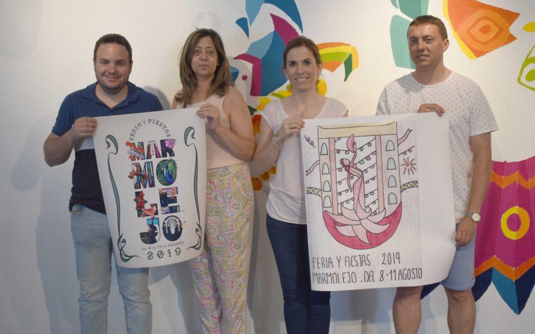 Manuel Expósito y Natalia Tello ganan el concurso del cartel de la Feria de Marmolejo 2019
