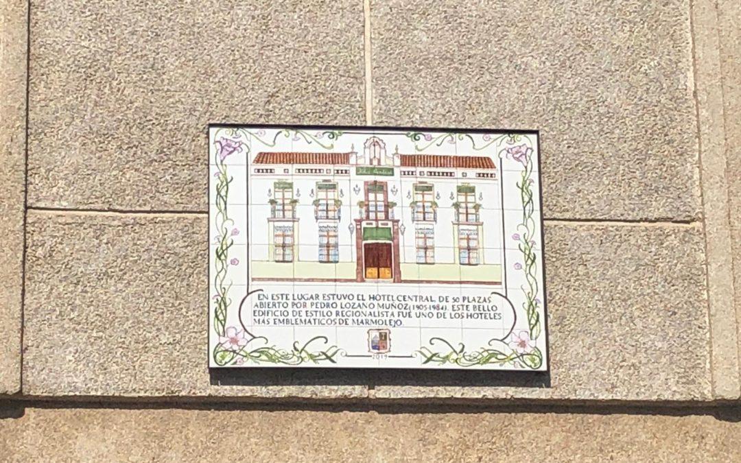 En marcha un plan de señalización artística para los lugares emblemáticos de Marmolejo