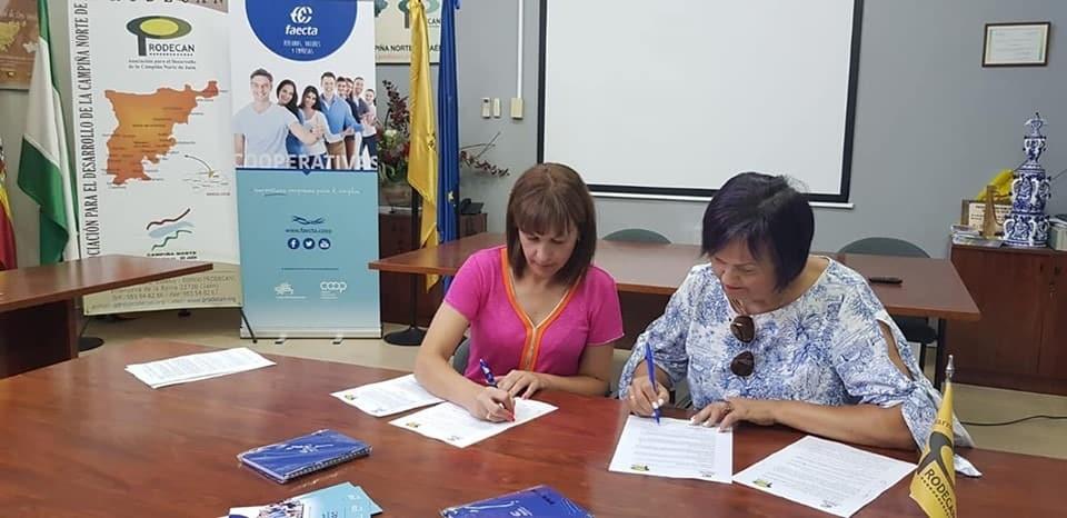 La colaboración entre Prodecan y Faecta facilitará oportunidades de empleo a los jóvenes de la Campiña Norte