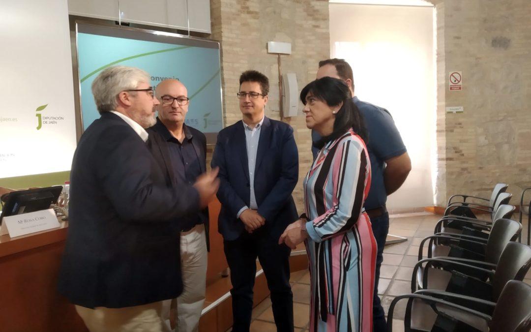 Firmado el convenio para unificar y hacer más eficaz la gestión el subsistema del Víboras
