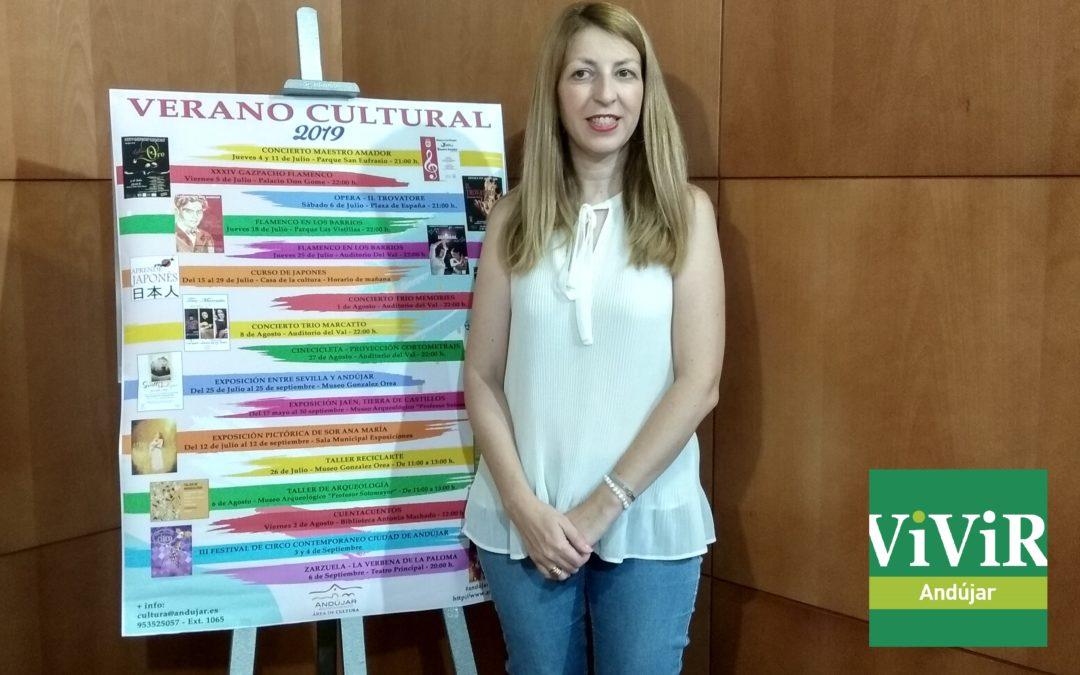Los andujareños podrán disfrutar de una gran oferta cultural durante todo el verano