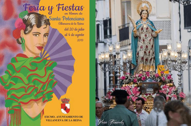 Música, ocio y cultura para la Feria de Villanueva de la Reina 2019