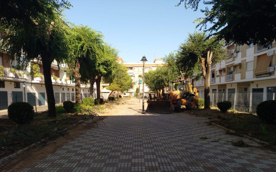 El Ayuntamiento de Andújar plantea mejoras en varios parques de la ciudad