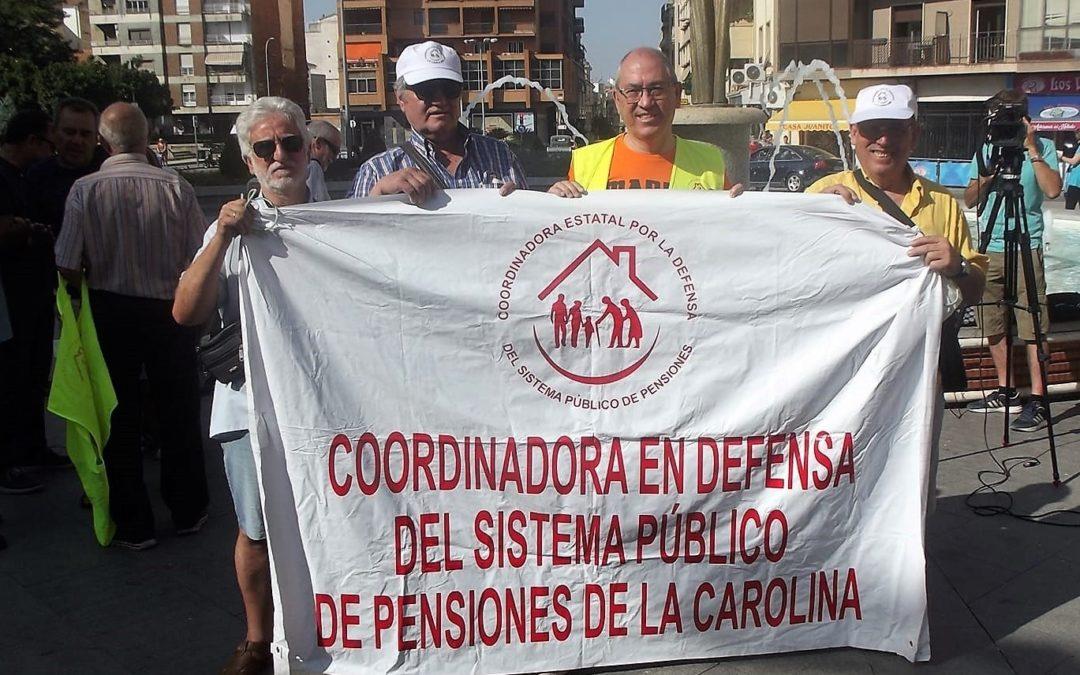 El 'lobo' Alberto Sanfrutos se suma a la lucha por las pensiones y la apertura del Geriátrico