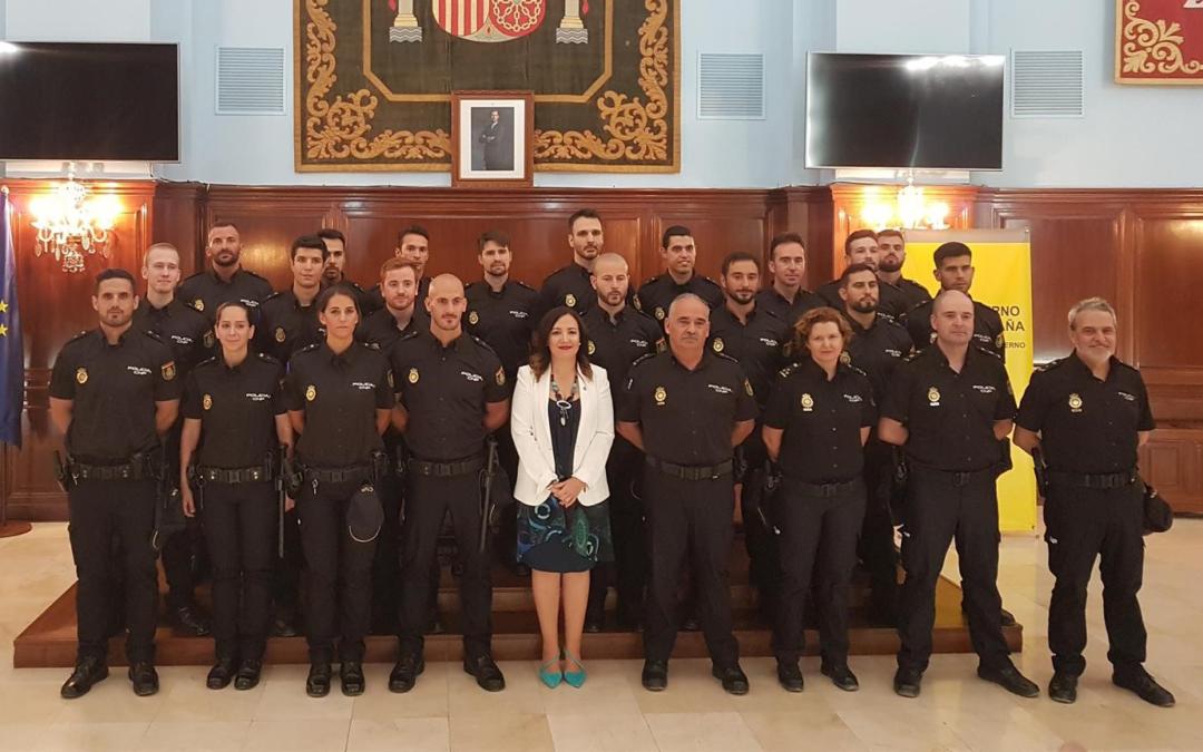 La Comisaría de Linares incorpora cinco nuevos policías en prácticas
