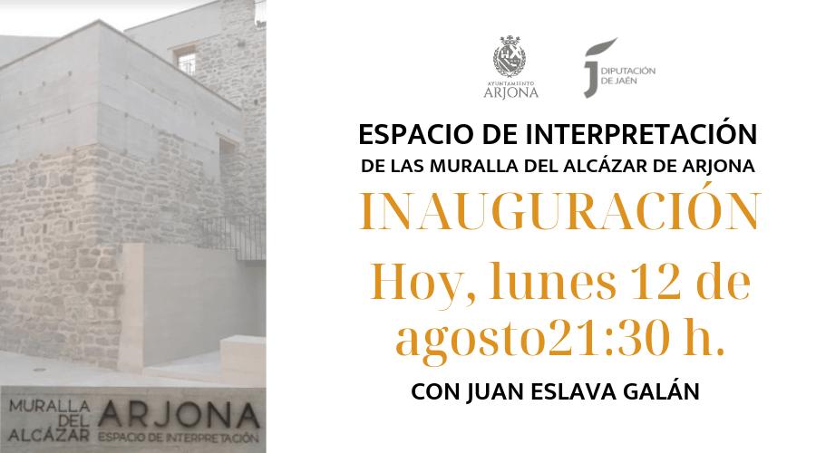 Todo a punto para abrir al público el Espacio de Interpretación de la Muralla del Alcázar de Arjona