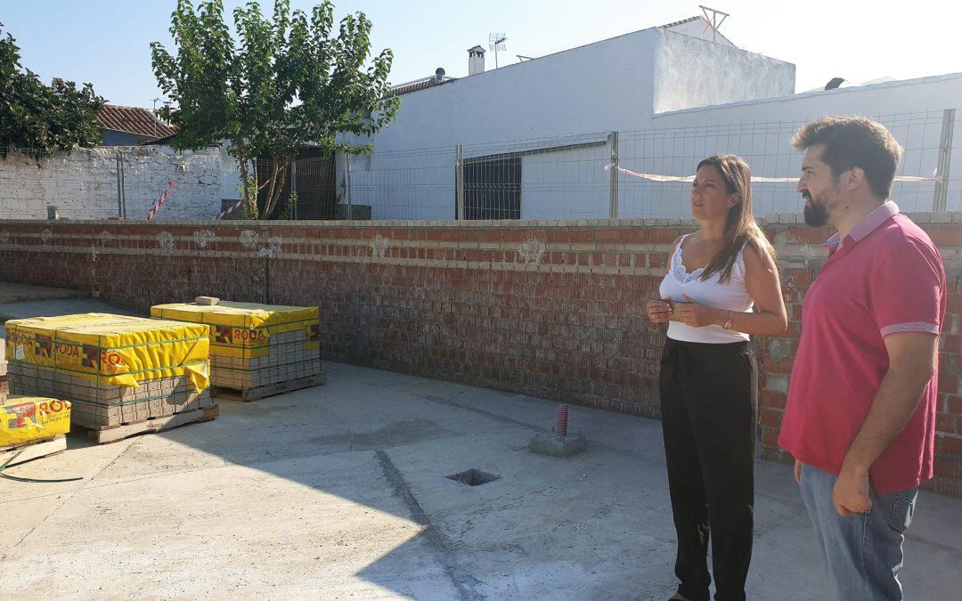 Las obras de la plaza de la calle Cabo Novas concluirán en septiembre