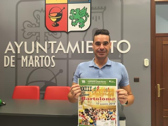 El Ayuntamiento anima a la participación en la XXIII Carrera Popular San Bartolomé