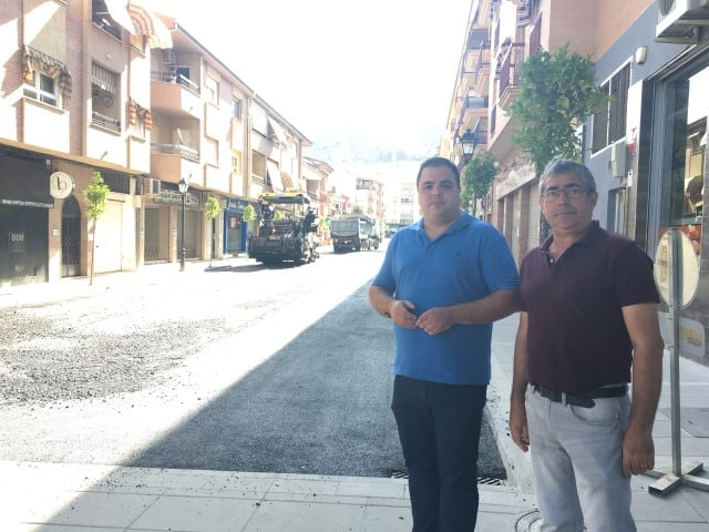 Intervención en la calle Rodríguez de la Fuente