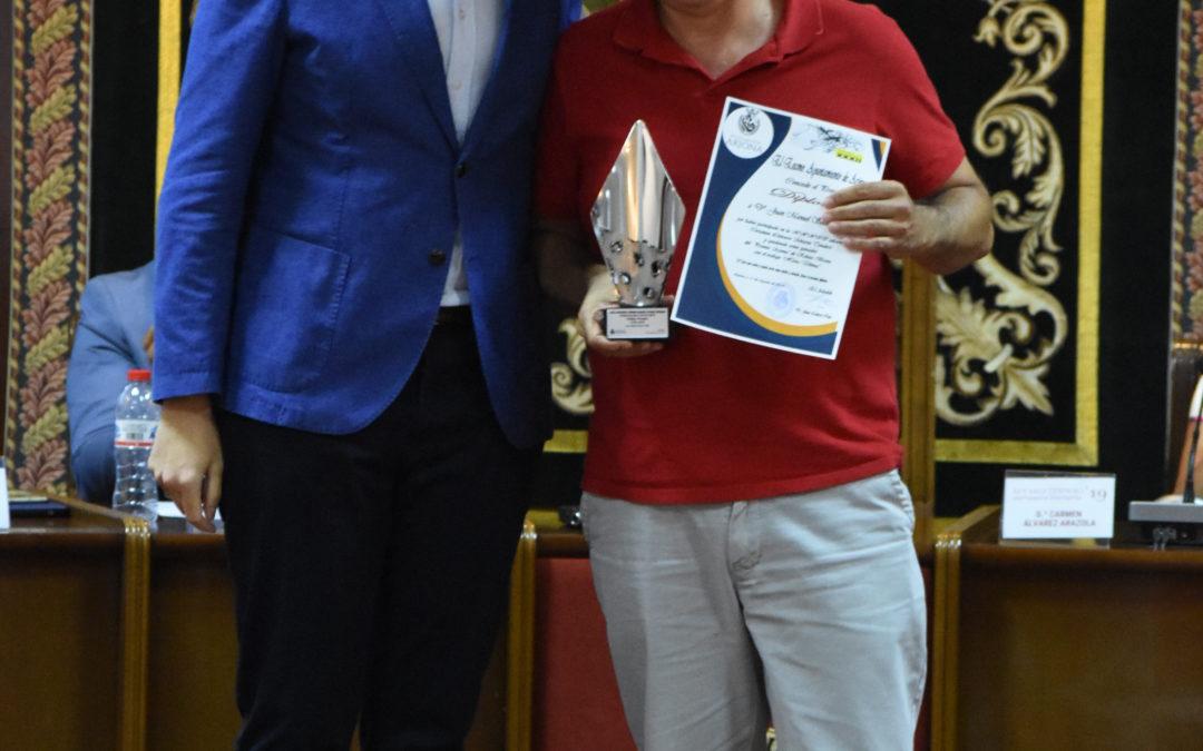 Arjona se rinde a la literatura en la entrega de premios de la trigésimosegunda edición del Álvarez Tendero